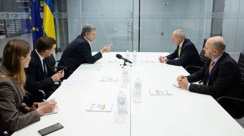 Петро Порошенко зустрівся з Главою Делегації ЄС в Україні Матті Маасікасом (фото)