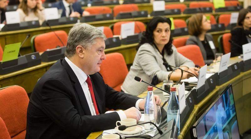 Виступ Петра Порошенка на сесії з питань безпеки Парламентського Комітету асоціації Україна-ЄС (фото, відео)