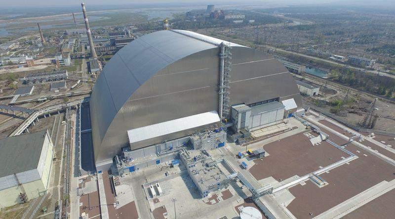 У Чорнобилі завершили будівництво нового саркофагу