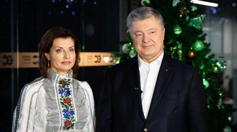 Різдвяне привітання Петра і Марини Порошенків (відео)