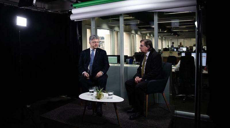 Петро Порошенко дав інтерв'ю європейському медіа EURACTIV (відео)