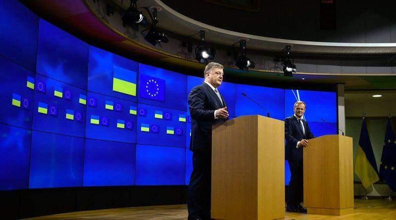 Петро Порошенко відвідає з візитом Брюссель
