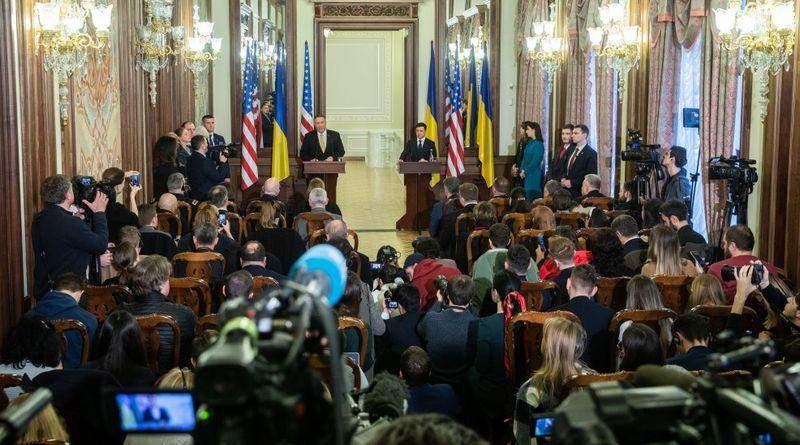 Первый день Помпео, или Зачем он в Украине