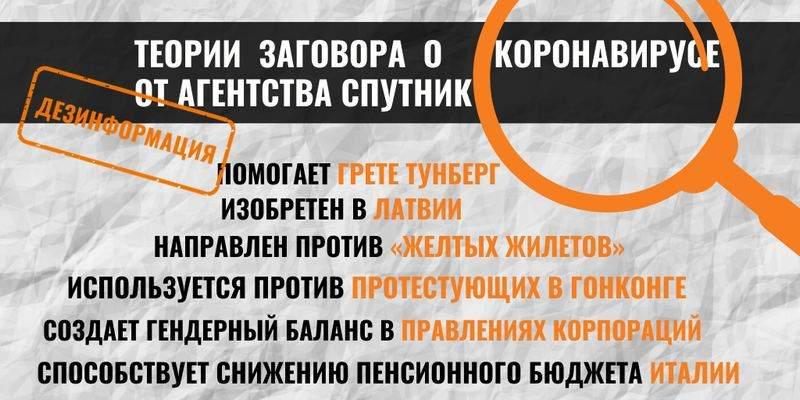 Обзор дезинформации пропагандистских СМИ – 28.03.2020
