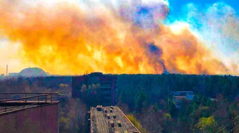 Горить Чорнобильська Зона відчуження – ахіллесова п'ята Києва (фото)