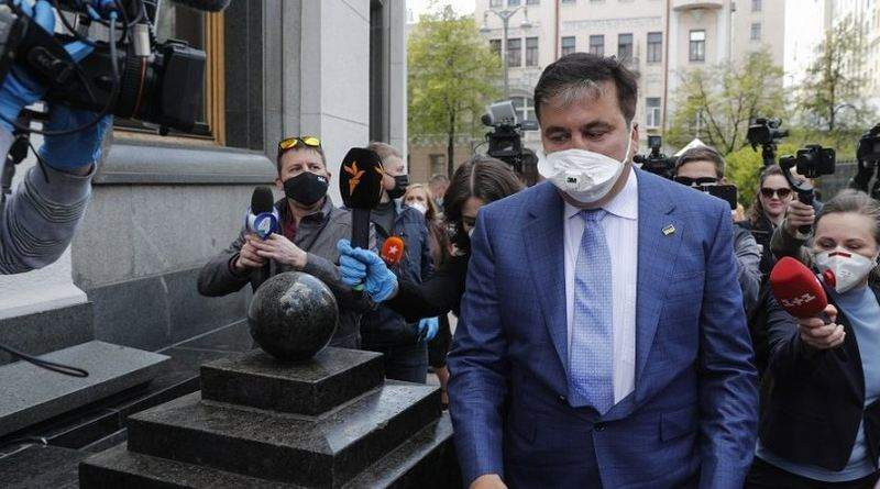 Саакашвили – это капитуляция Зеленского