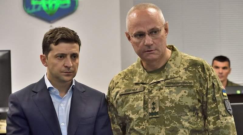 Высшее руководство армии, назначенное Зеленским, воевать не собирается