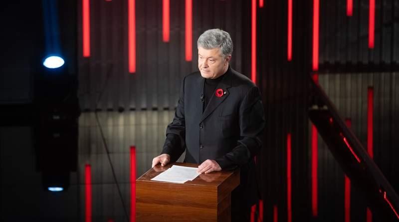 Петро Порошенко на міжнародному телемарафоні «Мир і війна» (фото, відео)