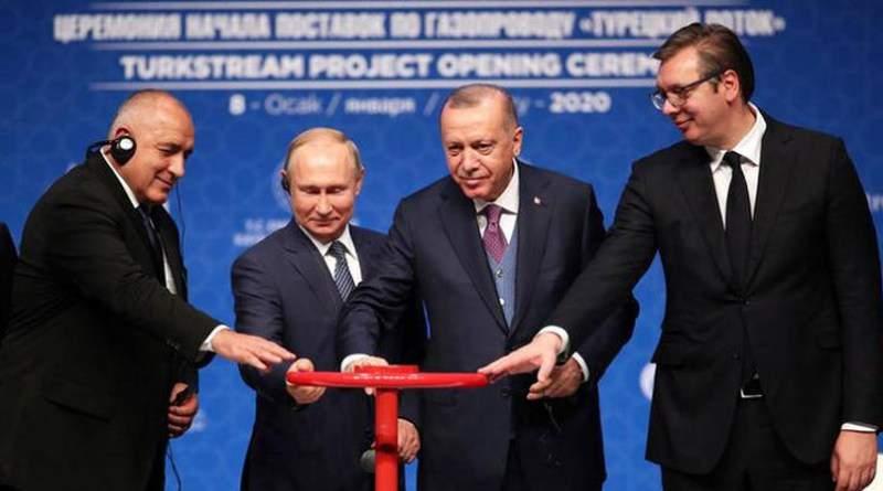 Турция отказывается от российского газа