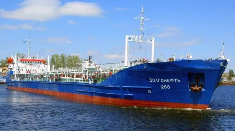 Російський дизель під триколором країни-агресора в українських портах