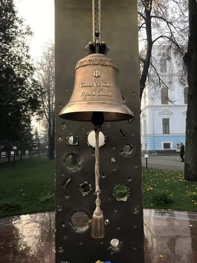 Вчера Колокол Памяти ударил 61 раз... (видео)