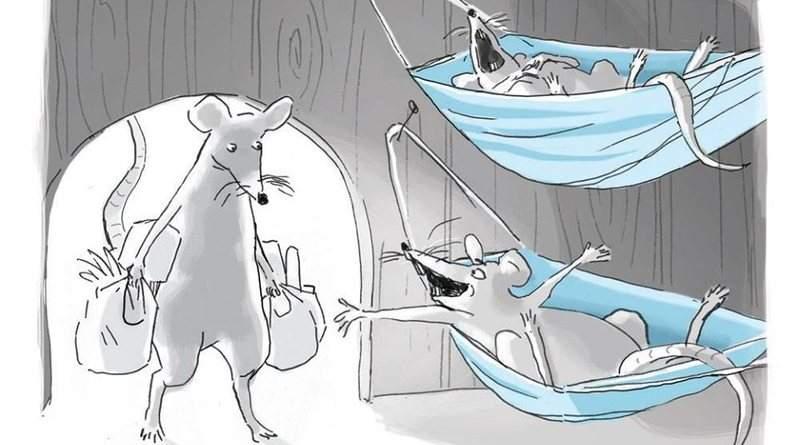 О мышах, которые везде
