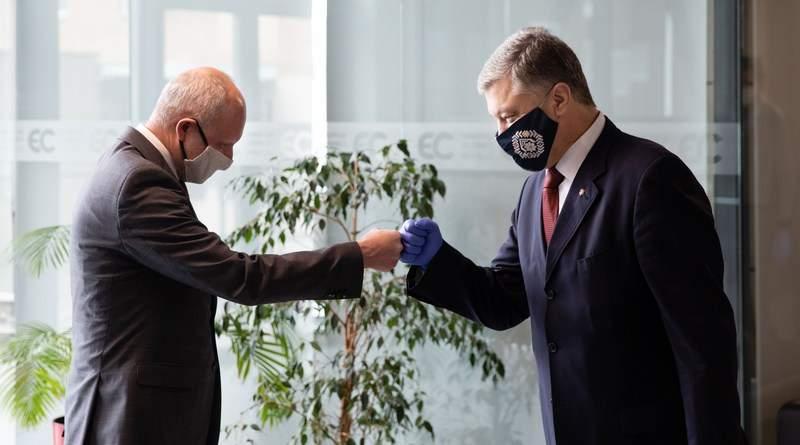 Петро Порошенко зустрівся з Послом Європейського Союзу в Україні Матті Маасікасом (фото)