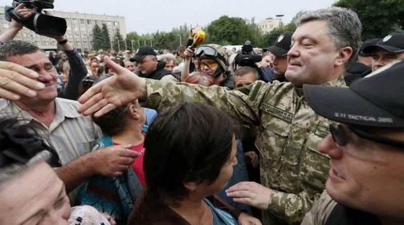 Боротьба за вільний український Донбас триває – Порошенко у річницю звільнення Слов'янська і Краматорська (відео)