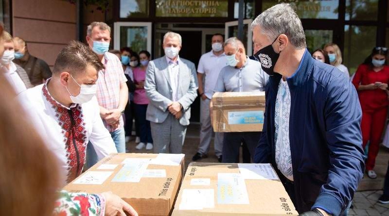 Якість світового рівня: українські лікарі розповіли про ІФА-тести, які привіз Фонд Порошенка (фото, відео)