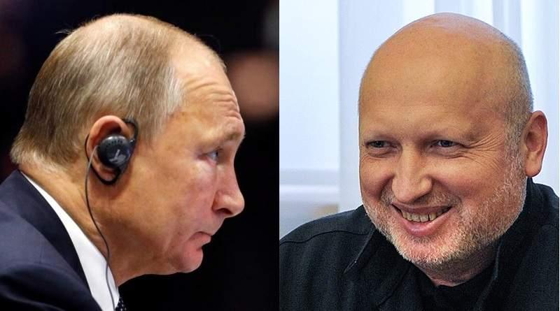 Турчинов відповів Путіну про «воду в Крим» – ексклюзивний коментар «5 каналу» (відео)