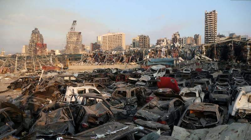 Петро Порошенко висловив співчуття народу Лівану з приводу трагедії у Бейруті