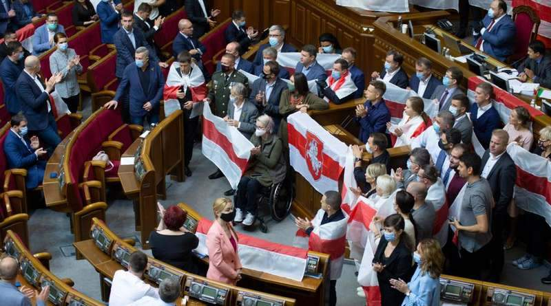 Рада нарешті спромоглася визначитися щодо подій в Білорусі (фото, документ)