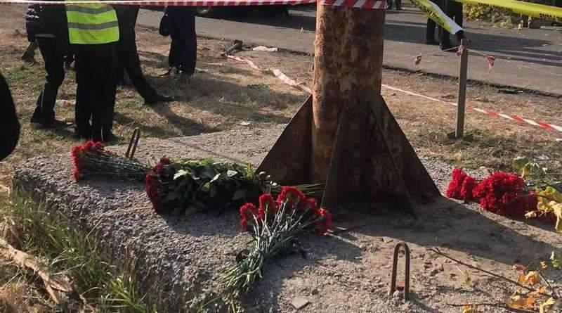 Інформація щодо падіння літака у Харківській області (фото, відео)