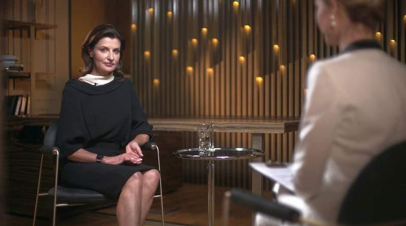 """Ексклюзивне інтерв'ю Марини Порошенко телеканалу """"Прямий"""" (відео)"""
