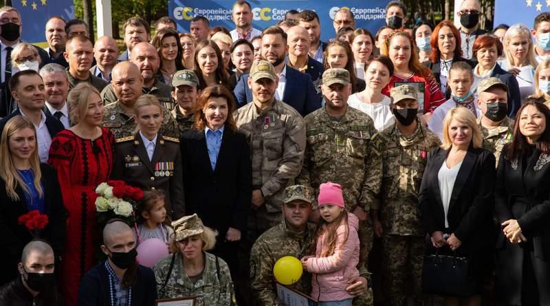Марина Порошенко: Боротьба триває не лише на фронті (фото, відео)