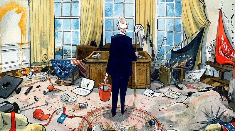 США: Хроніка однієї агонії (фото)