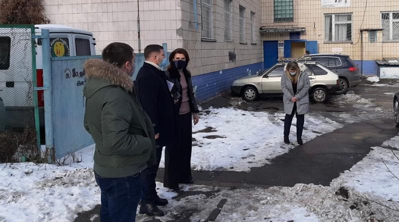 Марина Порошенко обговорила реконструкцію Подільського центру реабілітації для людей з інвалідністю (фото)