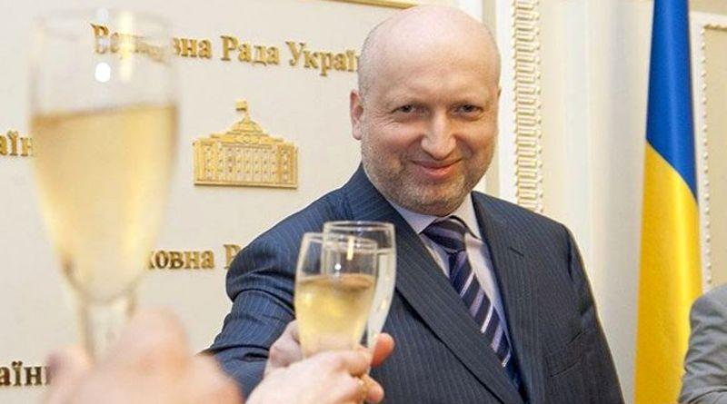 Новорічне привітання Олександра Турчинова (відео)