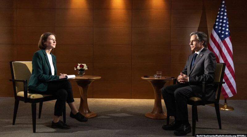 Ексклюзивне інтерв'ю Ентоні Блінкена для Радіо Свобода: Росія не має почуватися безкарною (відео)