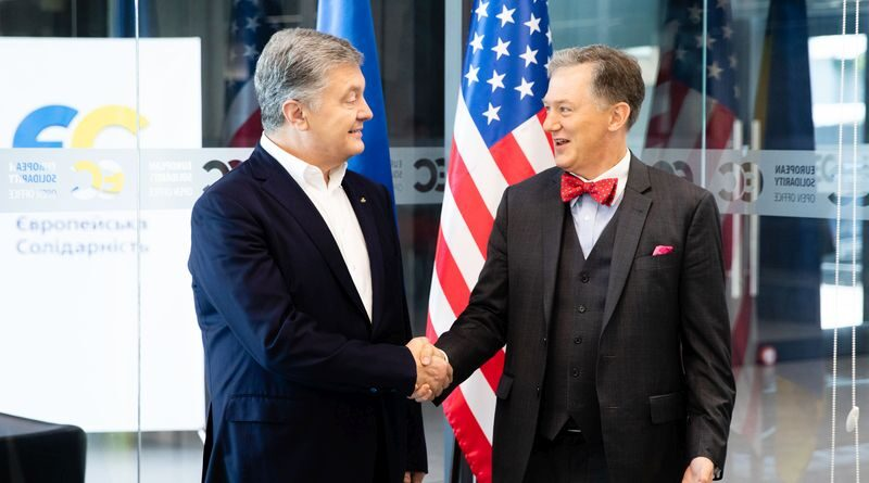 Петро Порошенко зустрівся з Тимчасовим повіреним у справах США в Україні Джорджем Кентом (фото)