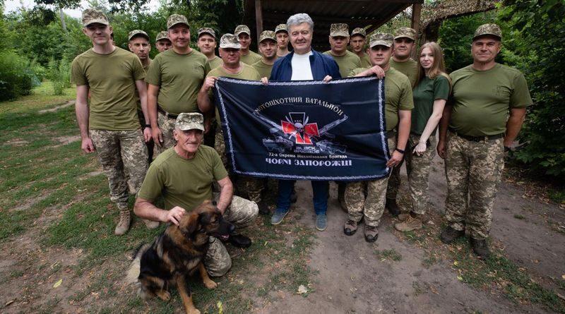Петро Порошенко знову на Сході, або Абрикоси наздоганяють черешню (фото, відео)